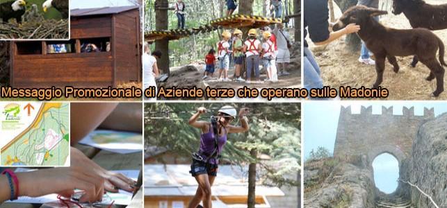 Offerta per le scuole del Parco Avventura Madonie